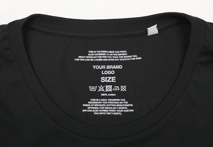 e0f39a86 Inner neck label. Printed label is a ...