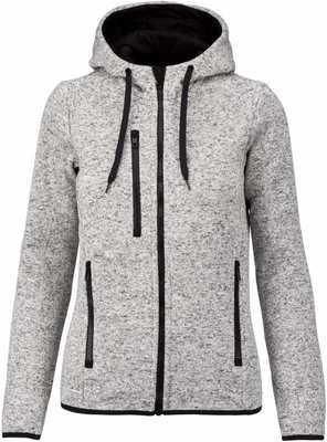 LADIES' HEATHER HOODIE
