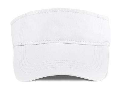 000c8f1a SOLID LOW-PROFILE TWILL VISOR - MERCHYOU