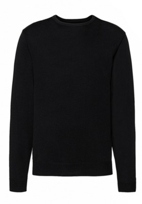 Mens Crew Neck Knitted Pullover