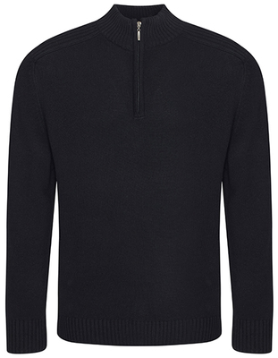 Wakhan 1/4 Zip Knit Sweater
