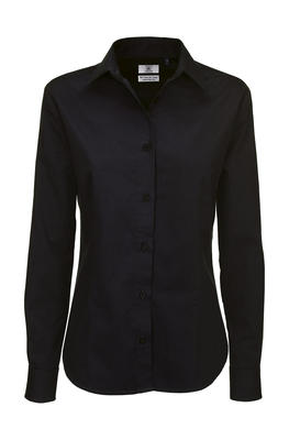 Ladies` Twill LS Shirt - SWT83