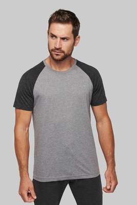 ADULT TWO-TONE SPORTS SHORT SLEEVE T-SHIRT