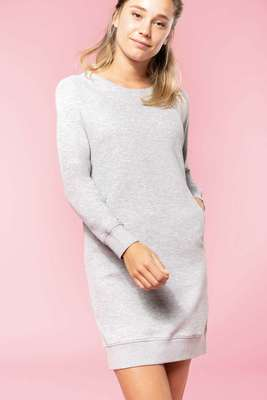 ORGANIC FLEECE LOUNGE DRESS