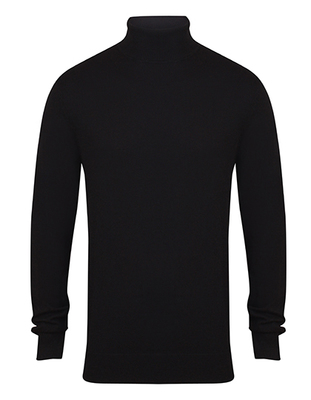 Mens Roll Neck Jumper