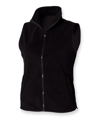 Ladies Sleeveless Microfleece Jacket