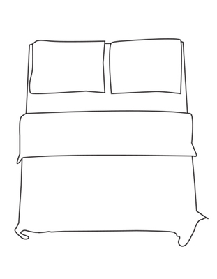 Fitted Sheet - Double M